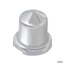 CHROME PLASTIC NUT COVERS | 10092