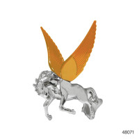 CHROME HOOD ORNAMENTS WITH ILLUMINATED WINGS | 48071