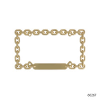 DECORATIVE LICENSE PLATE FRAMES | 60267