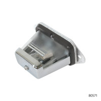 CHROME LICENSE PLATE LAMPS   80571
