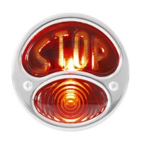 BLACK TAIL LAMP WITH S.S. RIM | KA0038