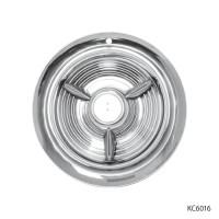 STAINLESS STEEL FIESTA HUB CAPS | KC6016