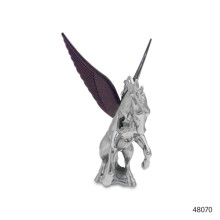 CHROME HOOD ORNAMENTS WITH ILLUMINATED WINGS | 48070
