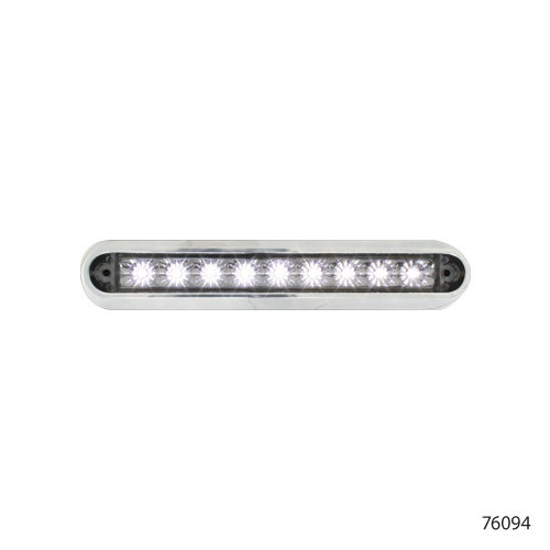 65 flush mount led light bar with chrome base 76094 kns 65 flush mount led light bar with chrome base 76094 mozeypictures Choice Image