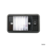 INTERIOR LED DOME LAMP WITH SWITCH   79701