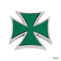 IRON CROSS ACCENTS WITH STICKER   90243