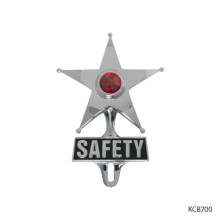 "ALUMINUM POLISHED ""SAFETY STAR"" 